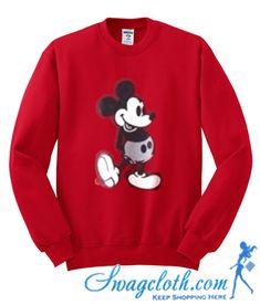 13f19dd4 Classic Mickey Mouse Sweatshirt | Disneyland 2018 | Mickey mouse ...