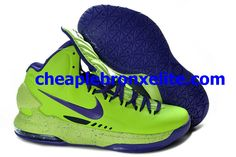 official photos fcec5 c2581 Nike Zoom KD V Cheap Purple Volt 554988 102 Kevin Durant Basketball, Nike  Zoom,