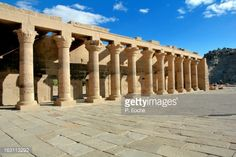 Philae Temple, the cult of Isis, colonnades