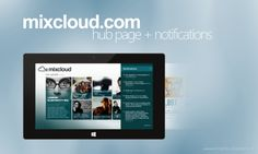 Mixcloud.com Application Concept for Windows 8 by Mantvydas Baranauskas, via Behance Design Language, Windows 8, Iphone App, Microsoft, Ipad, Behance, Design Inspiration, Concept, Modern