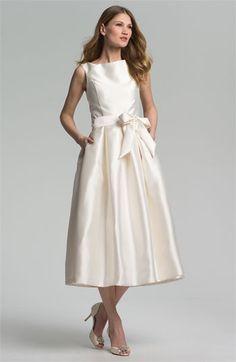 Isaac Mizrahi New York Faille Satin Fit & Flare Dress $169