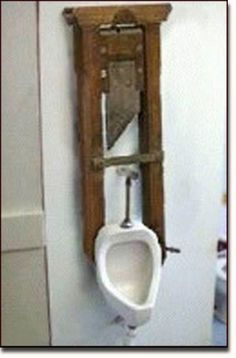 Most Unusual Urinals Ever. Can you even imagine a urinal this strange and unusual. Please Comment. Bathroom Toilets, Bathroom Humor, Bathroom Fixtures, Bathrooms, Thomas Crapper, World Toilet Day, Toilet Paper Humor, Toilet Sink, Candle Sconces