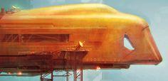 Inspirations: John Harris, Sci-Fi artist