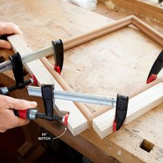 Put the Pinch on Miter Joints