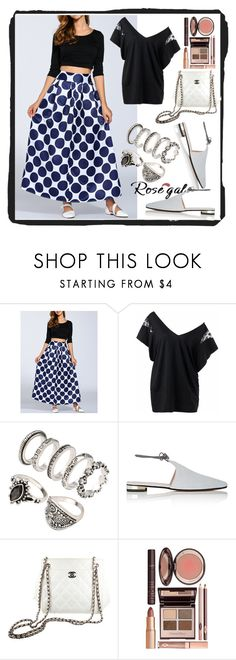 """""""ROSEGAL #45-IV"""" by nizaba-haskic ❤ liked on Polyvore featuring Barneys New York, Chanel, Charlotte Tilbury and vintage"""