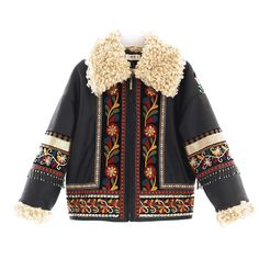 MAI XU Ethnic Style Embroidery Short Coat | Bohointernal.com