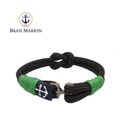 Ciar Nautical Bracelet by Bran Marion Nautical Bracelet, Nautical Jewelry, Reef Knot, Marine Rope, Hardware, Everyday Look, Anklet, Handmade Bracelets, Jewelry Collection