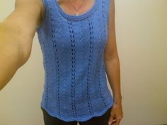 Read these modifications at Ravelry: heidilou2's Sublime Summer Tee