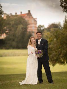 Classic Wedding Portrait at Naesbyholm Castle