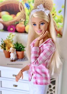 Disney Princess Aurora, Disney Princess Dolls, Doll Clothes Barbie, Barbie Dolls, Barbie Stuff, Barbie Tumblr, Barbie Bedroom, Barbie Hairstyle, Barbie Fashionista Dolls