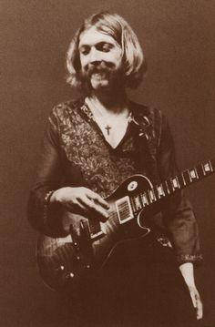Duane Allman, one of the greatest guitarists ever, killed in a motorcycle accident, October 29th, 1971 age 24