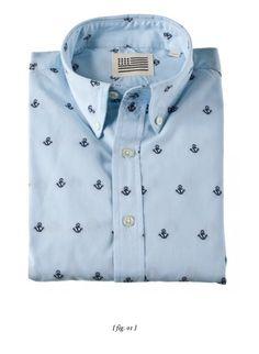 Button Down Anchor Shirt
