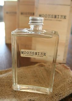 Moonshine packaging- groomsmen