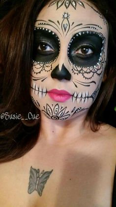 Day of the dead makeup, Dia DE Los Muertos makeup