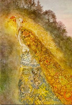 Musings from Gelli Fach: The Way of Brigit, Goddess and Saint: Towards a Post-Christian Paganism