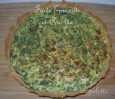 Papolette en cuisine: Tarte aux épinards