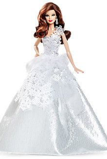 Looking for Holiday Barbie Dolls? Immerse yourself in Barbie history by visting the Barbie Signature Gallery at the official Barbie website! Free Barbie, Mattel Barbie, Barbie Dress, Barbie Clothes, Barbie Halloween, Christmas Barbie, Barbie Website, Barbie Princess, Princess Gowns
