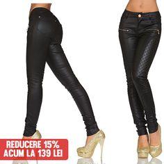 Pantaloni Jess Black  >> Click pe poza pentru a intra pe site. Oriunde ai vrea sa iesi acesti pantaloni sunt alegerea perfecta. In partea din fata sunt prevazuti cu doua buzunare si un model cu patratele care le dau o forma placuta.  #PantaloniDama  #PantaloniIeftini  #PantaloniFemei  #PantaloniVara #VinereaNeagra #BlackFriday #Reduceri #fashion #BlackFridayFashion #ReduceriBlackFriday