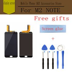 Original LCD For MEIZU M2 Note M571 Display Screen Digitizer Touch mobile phone lcds Replacement Free Tools