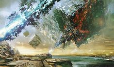 """Scraps Of The Untainted Sky"": The Epic Dystopian Artworks By Daniel Dociu – Design You Trust"