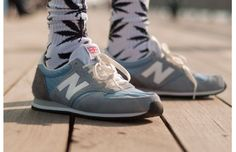 New Balance 420. HUF Socks.