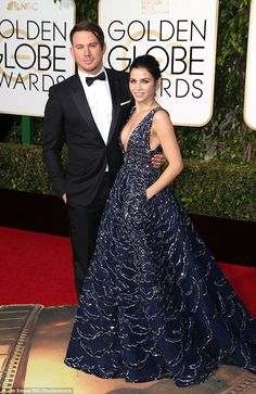 Jason Statham and His Wife