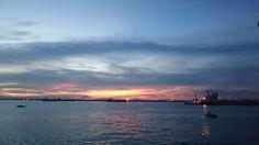 lanscape, nature, sunset