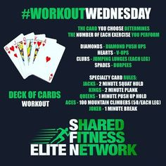 Deck of cards workout. You can basically use this format but different exercises. Basic Workout, Workout At Work, At Home Workout Plan, Gym Workouts, At Home Workouts, Home Boxing Workout, Boot Camp Workout, Boxing Fitness, Card Workout