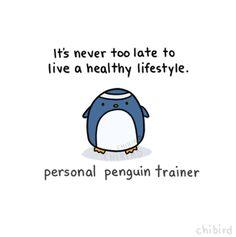 Personal Trainer Penguin