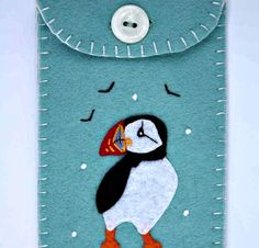 Hey, I found this really awesome Etsy listing at https://www.etsy.com/jp/listing/100052337/felt-phone-casefelt-ipod-casepuffin