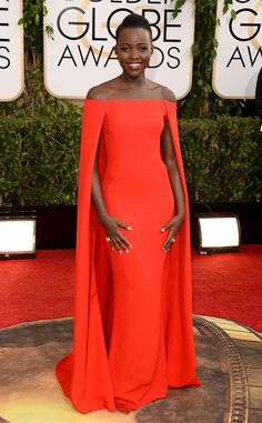 Lupita Nyong'o from Ralph Lauren's Most Memorable Red Carpet Gowns | E! Online
