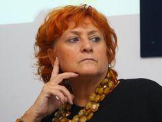 Ilda Boccassini.  A  fearless anti-Mafia judge brava Laura sembra l'Imperatrice di BISANZIO.
