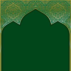 Background with golden patterned arched frame vector image on VectorStock Poster Background Design, Studio Background Images, Theme Background, Background Patterns, Ramadan Background, Invitation Background, Islamic Art Pattern, Pattern Art, Arabic Pattern