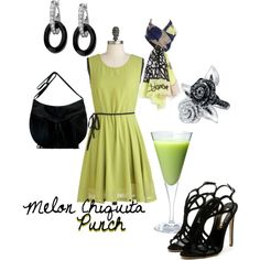 Melon Chiquita Punch (drink inspired fashion)