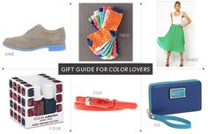 Gift Guide for Color Lovers