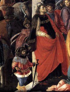 Поклонение волхвов (деталь). 1465-67, темпера. Национальная галерея, Лондон. http://www.wga.hu/support/viewer/z.html