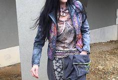 ART homeless sáčko New Look, Denim, Jackets, Handmade, Fashion, Down Jackets, Moda, Hand Made, Fashion Styles