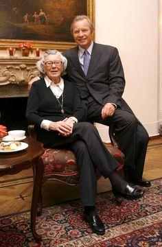 Rosamunde Pilcher and Michael York