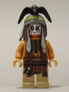 LEGO - The Lone Ranger - Tonto - Minifig / Mini Figure #LEGO