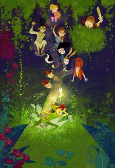 Peter Pan & die wilden Jungs