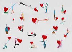 CADA UNO LLEVA EL CORAZON COMO PUEDE Heart Day, Calligraphy, Illustration, Ideas Para, Friends, Happy, Character, Amor, Sentences
