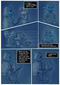 """Page 4 of a comic based on a cute fanfiction.""""Goodnight, Sleep tight"""" Write by @sunesshine. > NEXT < FIRST"""