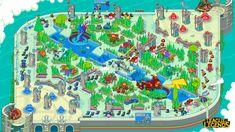 Pixel art Summoner's Rift wallpaper! | League of Legends