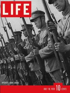 Life - Japan home guard, July 10, 1939