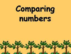Comparing numbers - Make thinking about 'more than' and 'less than' more fun with the help of the Gruffalo.