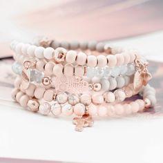 Traumhafter Schmuck für Damen mit shiny Facett Perlen!!!