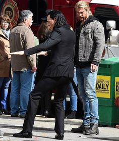 Both the God of Thunder and the God of Mischief have finally been spotted on the…