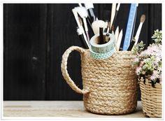 Love Creative People | Mug 'Chanvre' Madam Stoltz
