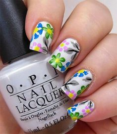 Nail art summer fun