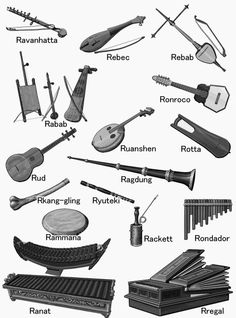 [R] world musical instruments